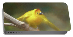Golden Weaver - Digital Painting Portable Battery Charger