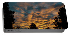 Golden Winter Morning Portable Battery Charger by Jason Coward