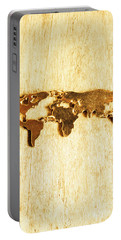 Golden World Continents Portable Battery Charger