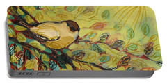 Goldfinch Waiting Portable Battery Charger