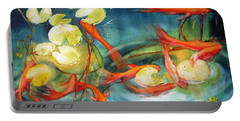 Goldfish Pond Portable Battery Charger