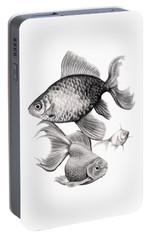 Goldfish Portable Battery Charger by Sarah Batalka