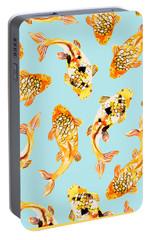 Goldfish Portable Battery Charger by Uma Gokhale