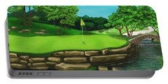 Golf Green Hole 16 Portable Battery Charger