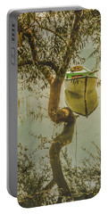 Portable Battery Charger featuring the photograph Golyazi, Turkey - Reflection And Rowboat by Mark Forte