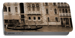 Gondola Crossing Grand Canal Portable Battery Charger