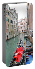 Portable Battery Charger featuring the photograph Gondola Love by Linda Prewer