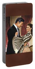 Gone With The Wind - 1939 - Completely Retouched In Color Portable Battery Charger