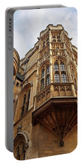 Portable Battery Charger featuring the photograph Gonville And Caius College Library Cambridge by Gill Billington