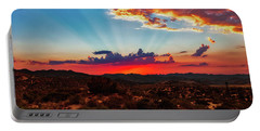 Portable Battery Charger featuring the photograph Good Evening Arizona by Rick Furmanek