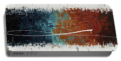 Good Feeling - Abstract Art Portable Battery Charger
