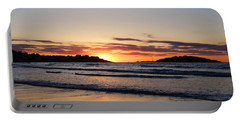 Good Harbor Beach At Sunrise Gloucester Ma Portable Battery Charger