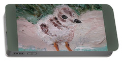 Good Harbor Piping Plover Chick #1 Portable Battery Charger