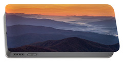 Good Morning Clingmans Dome In The Smokies Portable Battery Charger