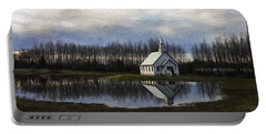 Good Morning - Hope Valley Art Portable Battery Charger