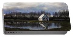Good Morning - Hope Valley Art Portable Battery Charger by Jordan Blackstone