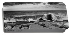 Portable Battery Charger featuring the photograph Good Morning In Black And White by Ricky L Jones
