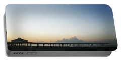 Good Morning Coastal Pier Portable Battery Charger