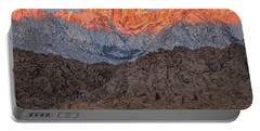 Portable Battery Charger featuring the photograph Good Morning Mount Whitney by John Hight