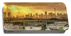 Miami City Sunrise Portable Battery Charger