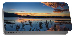 Portable Battery Charger featuring the photograph Good Night Tahoe by Mitch Shindelbower
