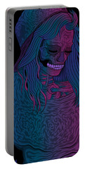 Good Vibes Skelegirl Portable Battery Charger