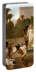 Goodall Frederik The Finding Of Moses Portable Battery Charger by Frederick Goodall