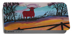 Portable Battery Charger featuring the painting Goodbye My Lover by Jeffrey Koss