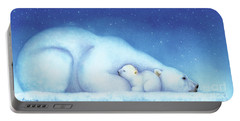 Arctic Bears, Goodnight Nanook Portable Battery Charger