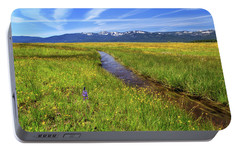 Portable Battery Charger featuring the photograph Goodrich Creek by James Eddy
