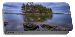 Portable Battery Charger featuring the photograph Googins Island by Rick Berk