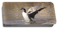 Goose Flapping Wings Portable Battery Charger