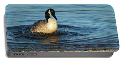 Goose In The Chesapeake Bay Portable Battery Charger