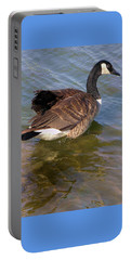 Goose Portable Battery Charger by John Lautermilch