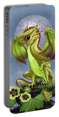 Gooseberry Dragon Portable Battery Charger by Stanley Morrison