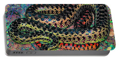 Portable Battery Charger featuring the photograph Gopher Snake by Pamela Cooper