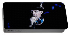 Gord Downie In Concert Portable Battery Charger by Maciek Froncisz