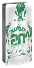 Gordon Hayward Boston Celtics Pixel Art T Shirt 5 Portable Battery Charger