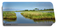 Gordons Pond - Cape Henlopen Park - Delaware Portable Battery Charger by Brendan Reals