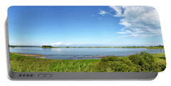 Gordons Pond Panorama - Cape Henlopen State Park - Delaware Portable Battery Charger