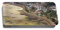Portable Battery Charger featuring the photograph Gorey Coast Road by Tony Murtagh