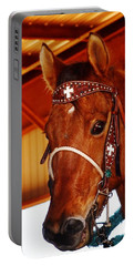 Gorgeous Horse And Bridle Portable Battery Charger