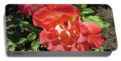 Portable Battery Charger featuring the photograph Gorgeous Roses by Stephanie Moore