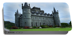 Gorgeous View Of Inveraray Castle Portable Battery Charger