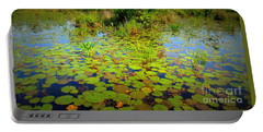 Gorham Pond Lily Pads Portable Battery Charger