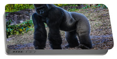 Portable Battery Charger featuring the photograph Gorilla Troop Leader by Gary Keesler