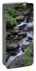 Goritsa Waterfalls-rapids 2181 Portable Battery Charger