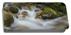 Goritsa Waterfalls Stream-bulgaria Portable Battery Charger