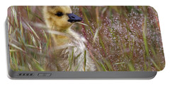 Gosling In The Meadow Portable Battery Charger