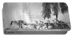 Goslings Bw8 Portable Battery Charger by Clarice Lakota